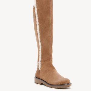 Sole Society JUNO Shearling Boot